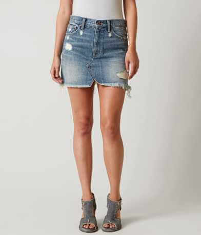 Lucky Brand Old Fashioned Denim Mini Skirt