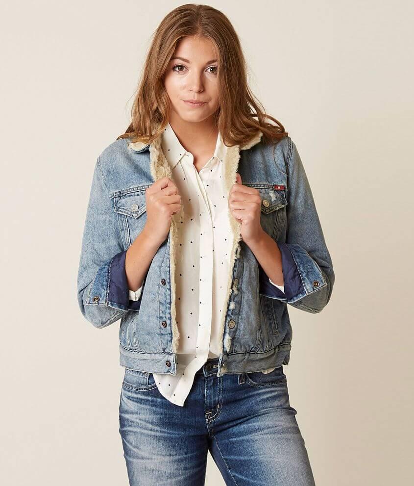 1c18f8c1a8e Lucky Brand Trucker Jacket - Women s Coats Jackets in Wellton