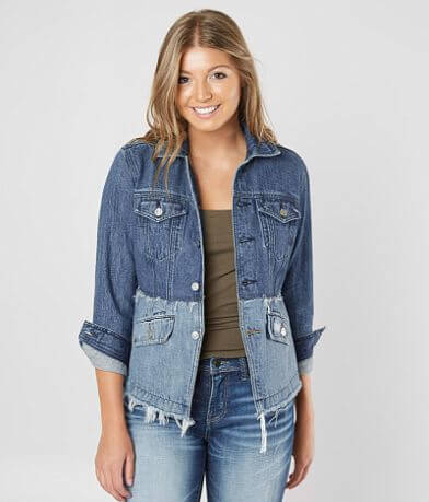 Lucky Brand Remade Denim Trucker Jacket