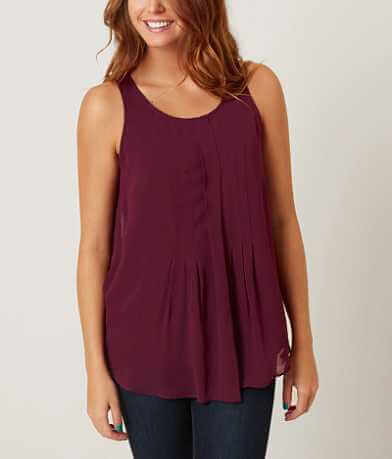 Lucky Brand Pleated Tank Top