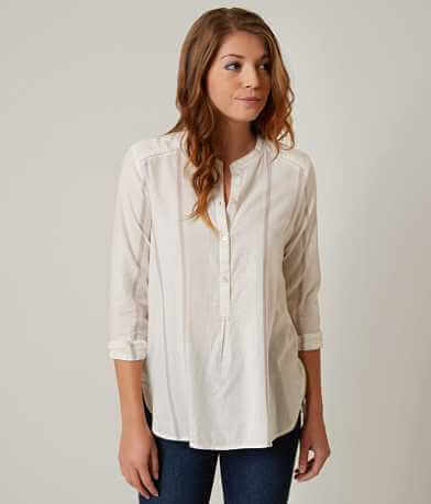 Lucky Brand Striped Henley Top