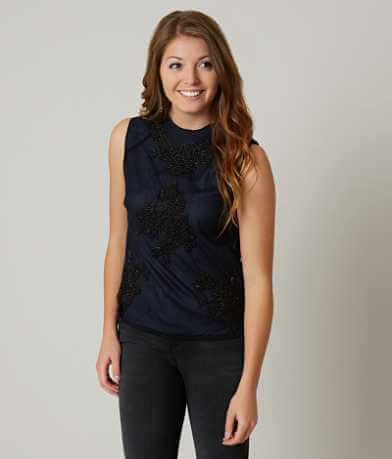 Lucky Brand Mock Neck Top