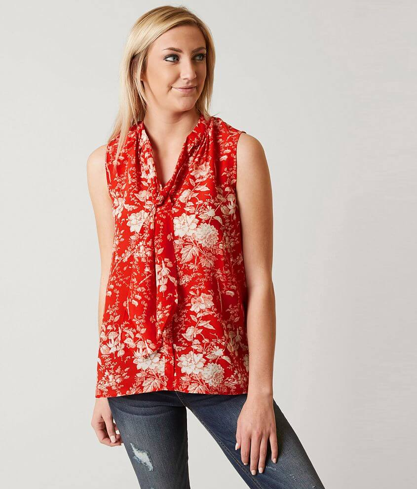 Lucky Brand Floral Tank Top front view