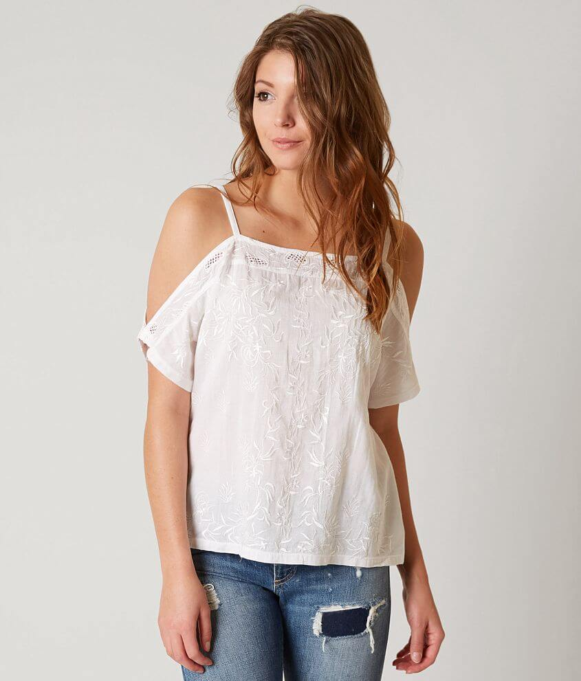 a96c706d82f9e6 Lucky Brand Cold Shoulder Top - Women s Shirts Blouses in Bright ...