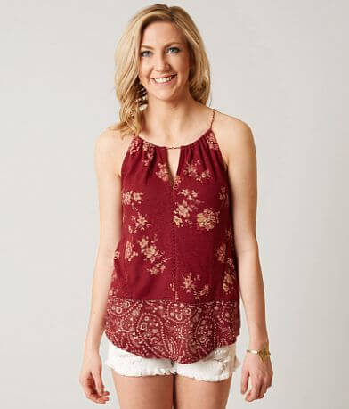Lucky Brand Floral Tank Top