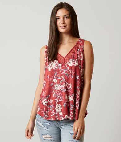 Lucky Brand Wildflower Tank Top