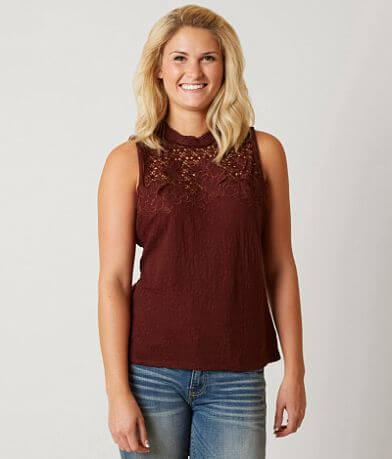 Lucky Brand Lace Tank Top