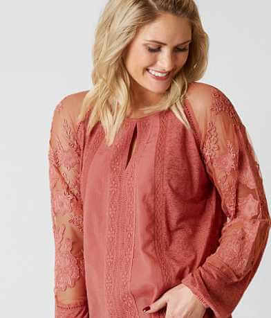 Lucky Brand Dusty Cedar Top