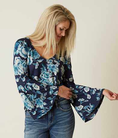 Lucky Brand Encinitas Floral Top