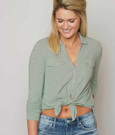 Lucky Brand Pieced Shirt