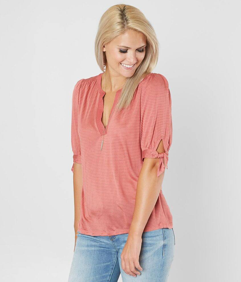 b8c018ca Lucky Brand Shadow Striped Top - Women's Shirts/Blouses in Light ...