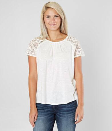 Lucky Brand Slub Knit Top