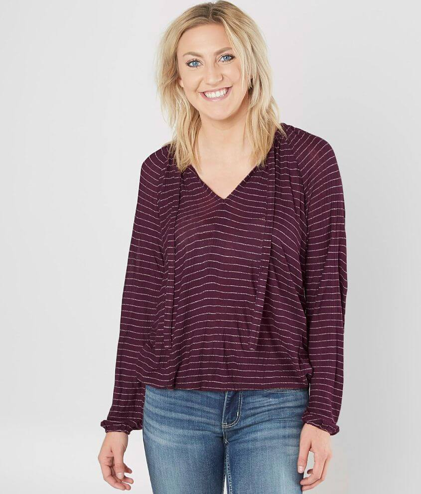 Lucky Brand Drop Needle Top front view