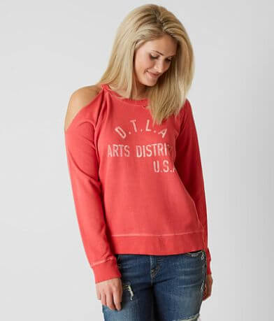 Lucky Brand Distressed Sweatshirt