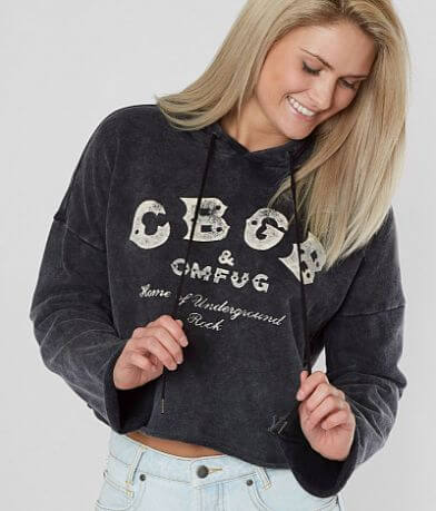 Lucky Brand CBGB Hooded Sweatshirt