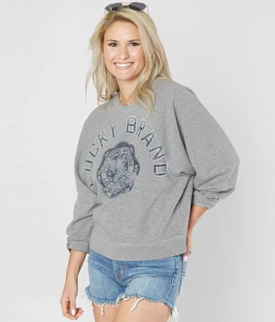 Lucky Brand Varsity Sweatshirt