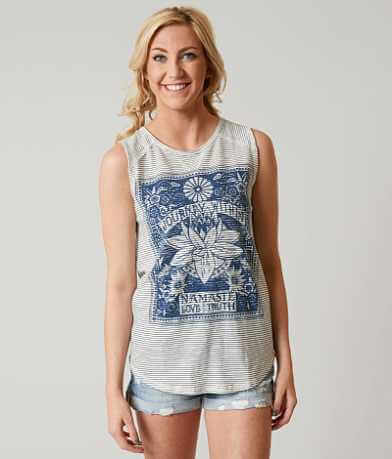 Lucky Brand Striped Matchbox Tank Top