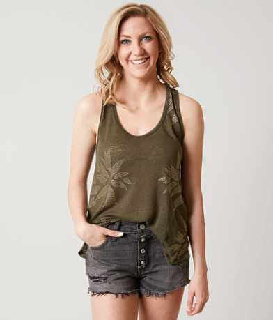 Lucky Brand Leaf Tank Top