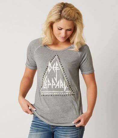 Lucky Brand Def Leppard Band T-Shirt