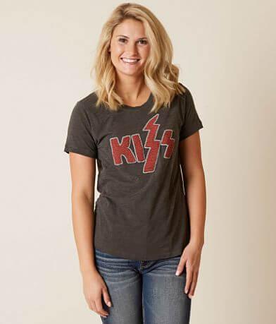 Lucky Brand Kiss Band T-Shirt