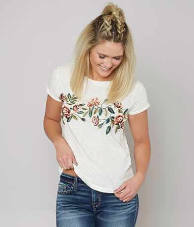 Lucky Brand Rose T-Shirt