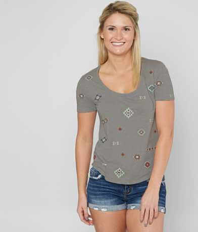 Lucky Brand Embroidered T-Shirt