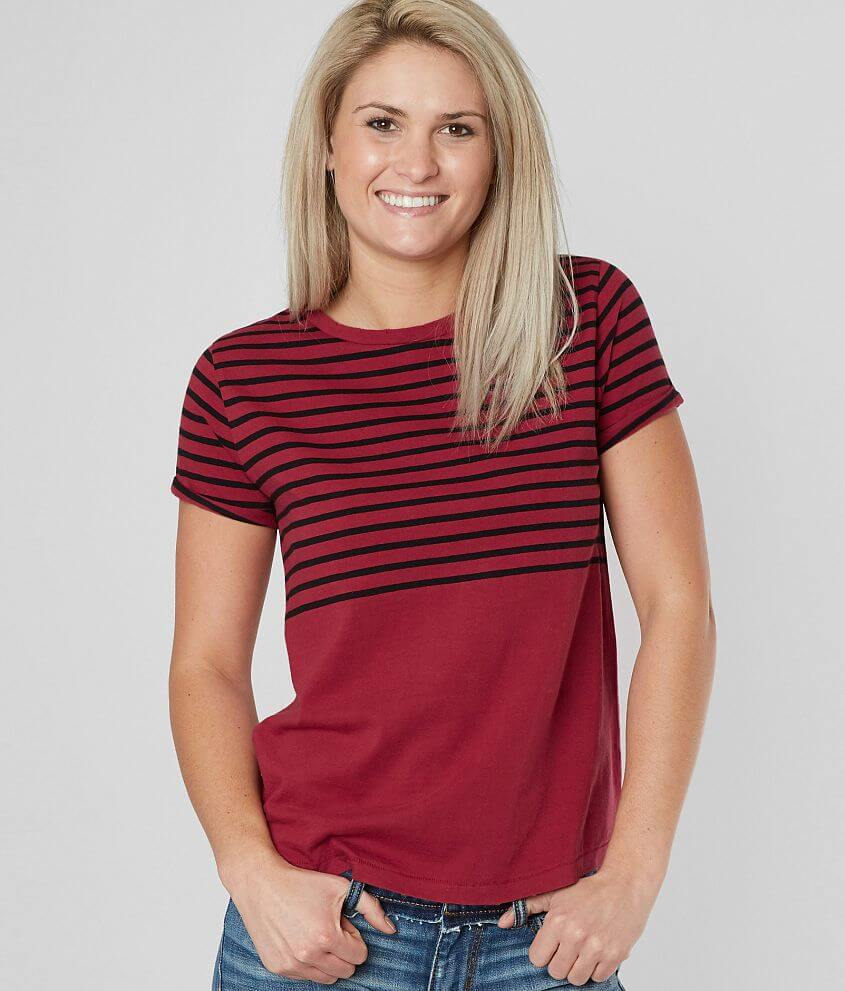 Lucky Brand Striped T-Shirt front view