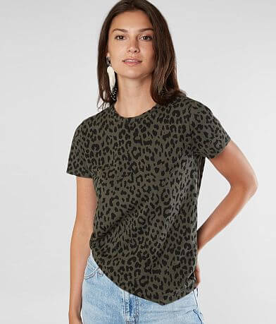 Lucky Brand Animal Print T-Shirt