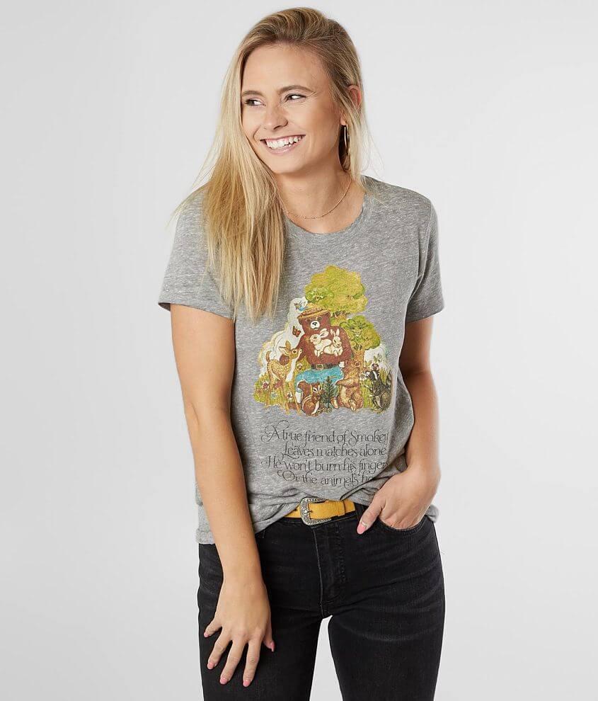 Lucky Brand Smokey Bear True Friend T-Shirt front view