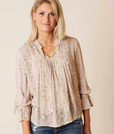 Lucky Brand Moroccan Top
