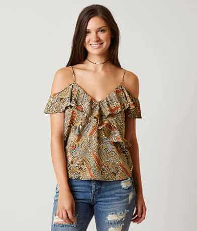 Lucky Brand Flutter Top