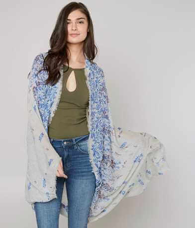 Lucky Brand Floral Cardigan