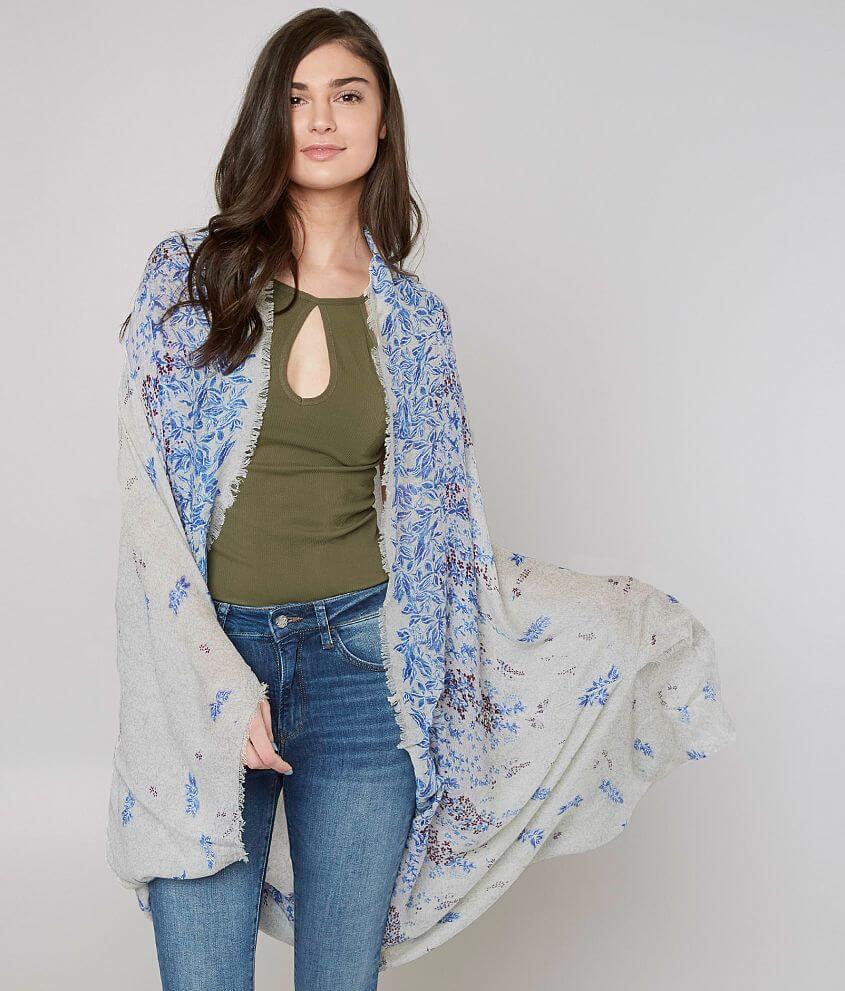 2e09c1b41 Lucky Brand Floral Kimono - Women's Kimonos in Multi | Buckle