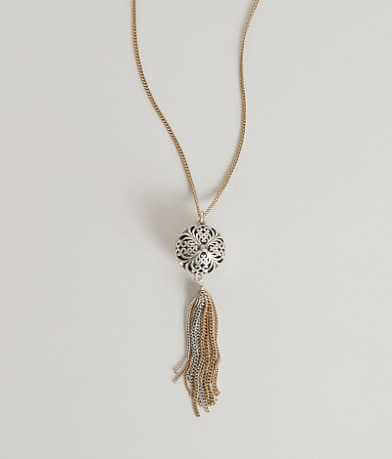 Lucky Brand Tassel Necklace