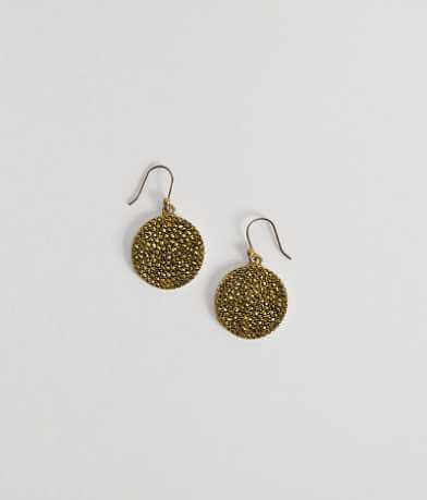 Lucky Brand Disc Earring