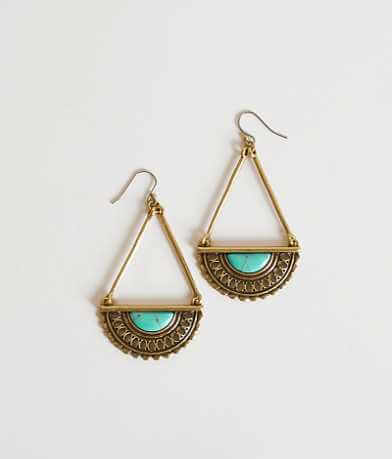 Lucky Brand Cut-Out Earring