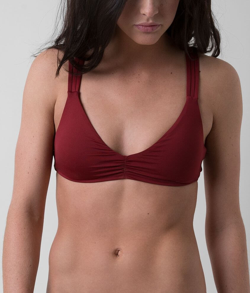 Lucky Brand Natural Fever Swimwear Top front view