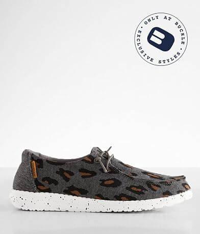 Hey Dude Wendy Cheetah Stretch Shoe