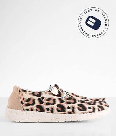 Hey Dude Wendy Leopard Shoe