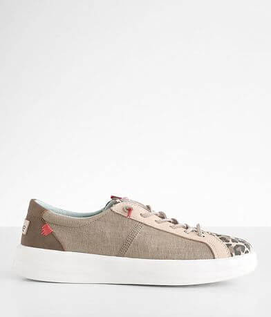 Hey Dude Karina Leopard Print Sneaker