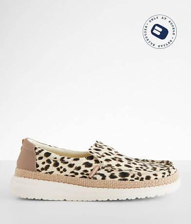 Hey Dude Misty Leopard Shoe