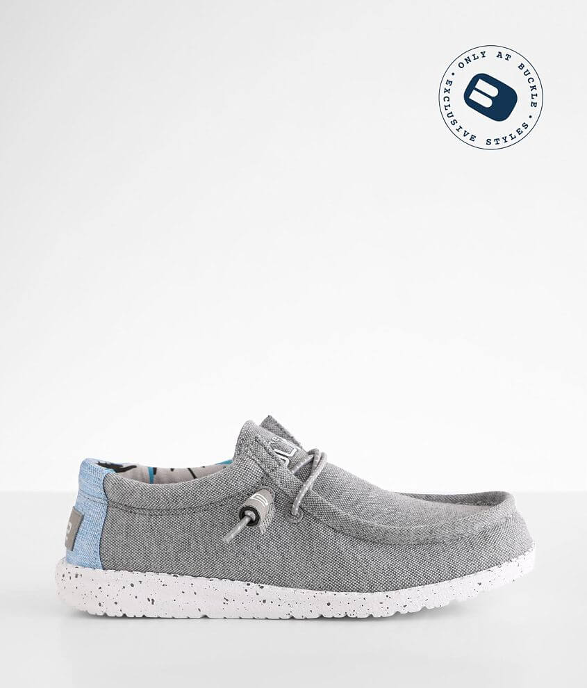 Boys - Hey Dude Wally Shoe front view
