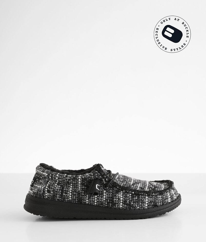 Toddler/Youth - Hey Dude Wally Shoe front view