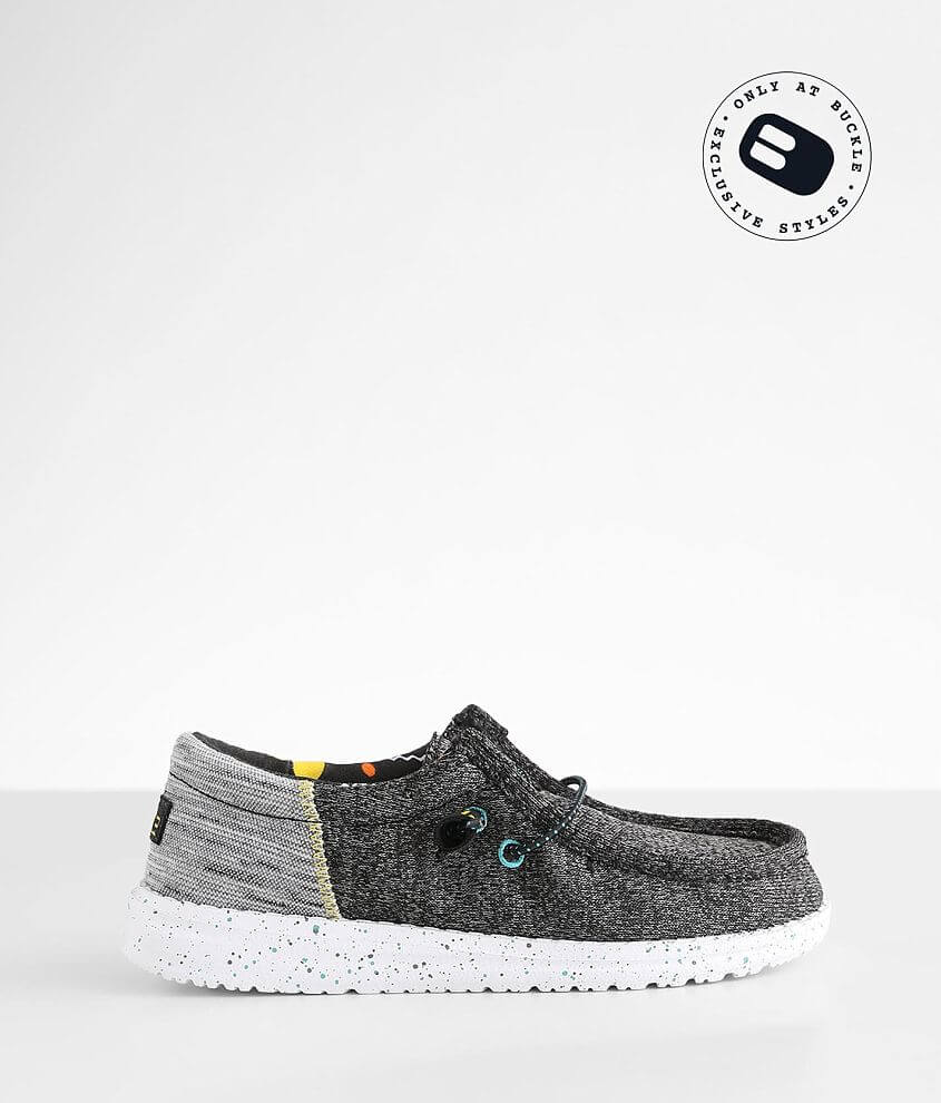 Toddler/Youth - Hey Dude Wally Funk Shoe front view