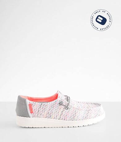 Toddler/Youth - Hey Dude Wendy Sox Shoe