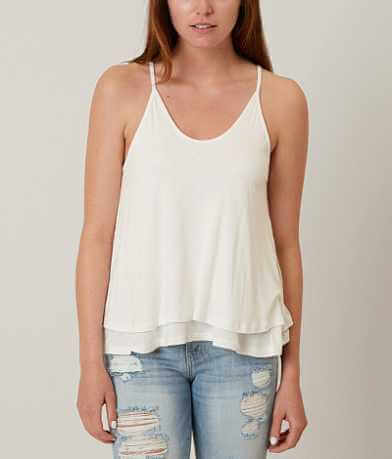 Lush Two Tier Tank Top