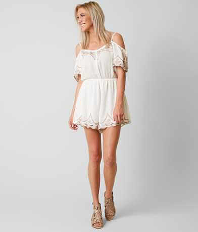 Lush Embroidered Romper