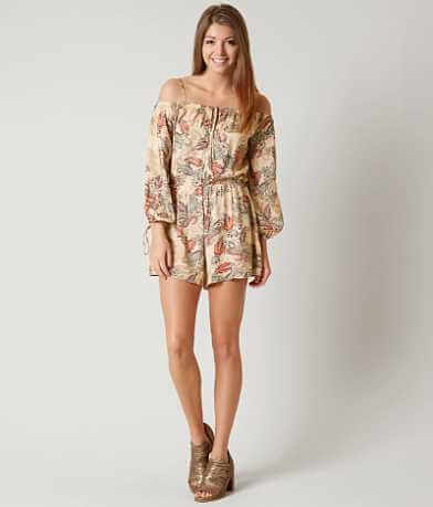 Lush Cold Shoulder Romper