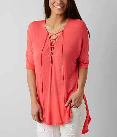 Lush High Low Hem Top