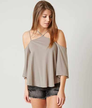 Lush Cold Shoulder Top